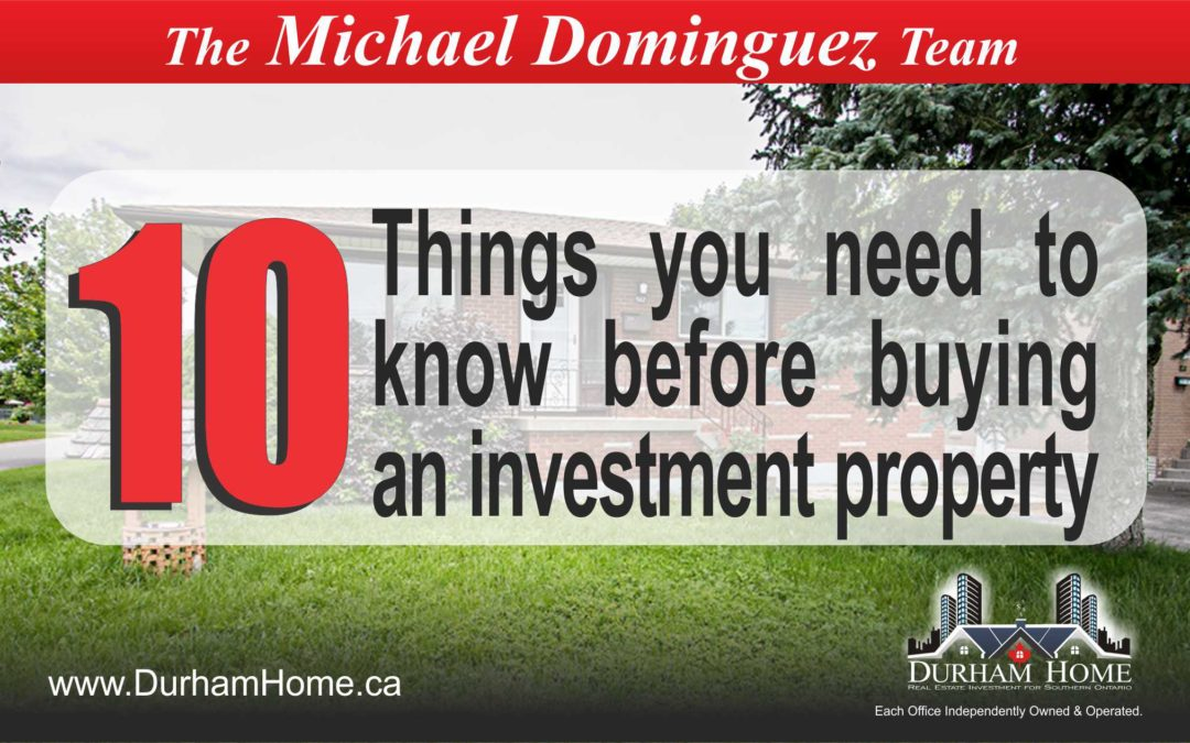 10 Things You Need to Know Before Buying an Investment Property